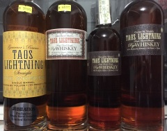 Taos Lightning Rye Single Barrel, 5yr, and 15yr.