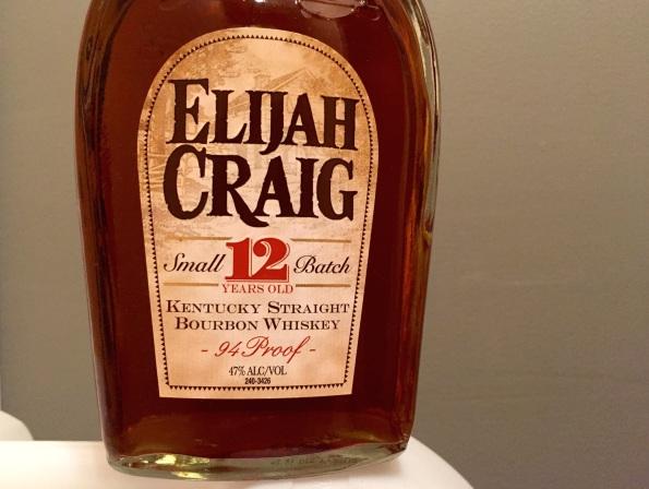 1 Elijah Craig 12 6-2016